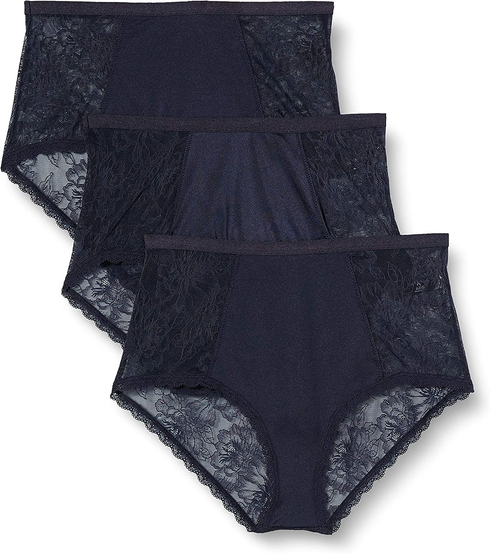 Iris /& Lilly Womens Slips Pack of 3 Brand