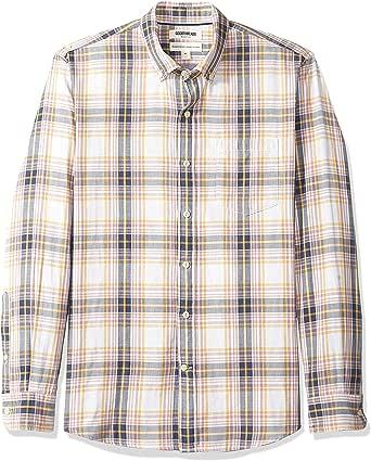 Goodthreads Men's Standard-Fit Long-Sleeve Doubleface Shirt