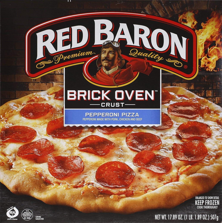 Red Baron Brick Oven Pepperoni Pizza, 17.89 oz (frozen)