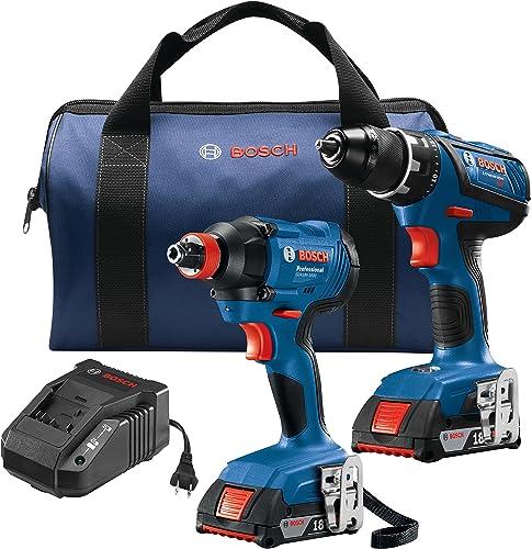 Bosch GXL18V-232B22 18V 2-Tool Kit