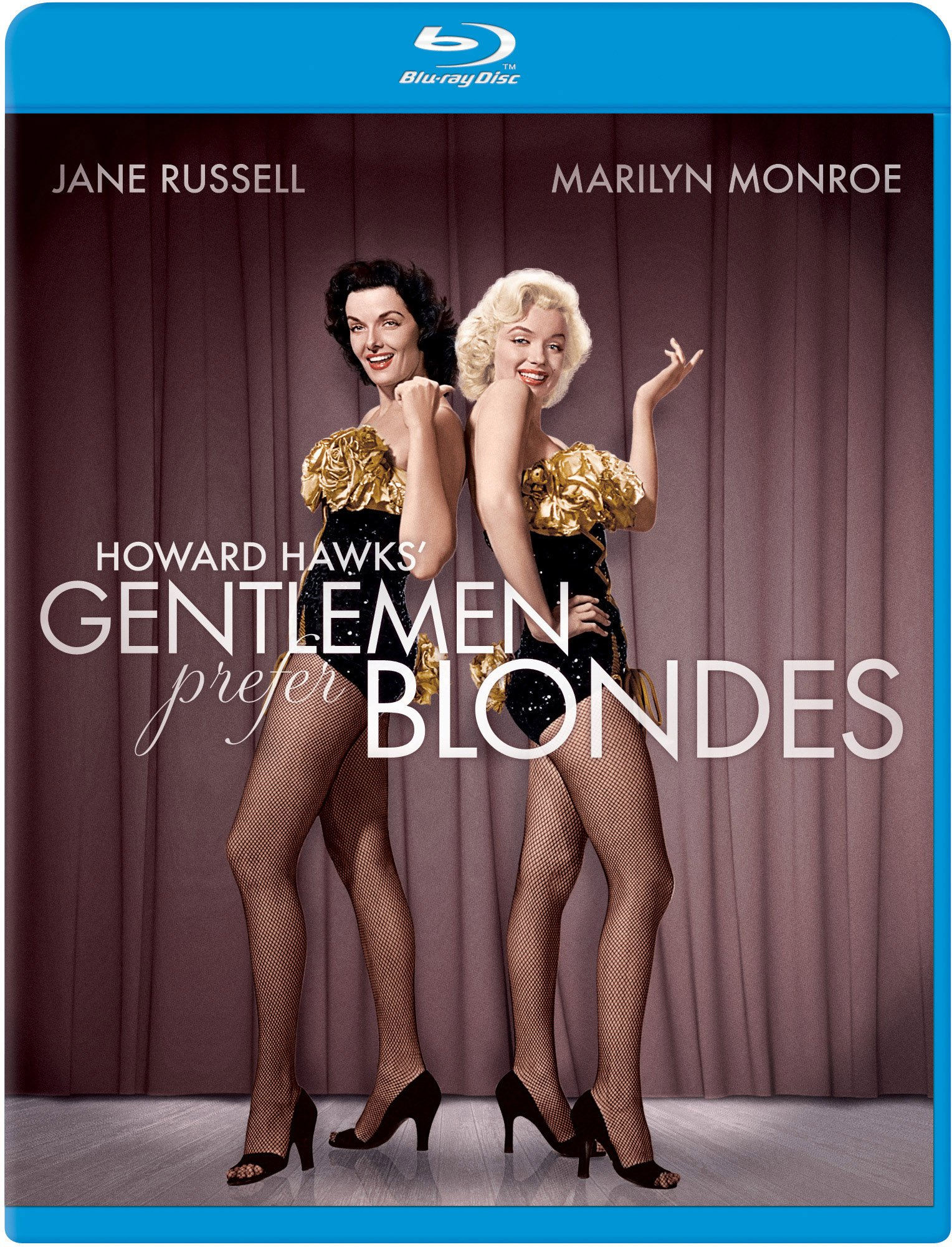 Blu-ray : Gentlemen Prefer Blondes (Full Frame, Digital Theater System, AC-3, Dolby, )