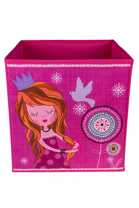Amazon.com: Cute Pink Princess Collapsible Storage Organizer by ...