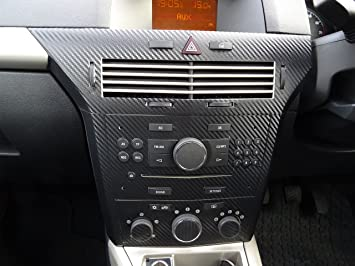 Webvinyl ASTRA H Mk5 VXR Carbon Fibre effect dash surround trimv+ ...