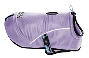 Hurtta Pet Collection Cooling Coat, 28-Inch Length, 28-Inch Neck, 32-42-Inch Chest, Lilac