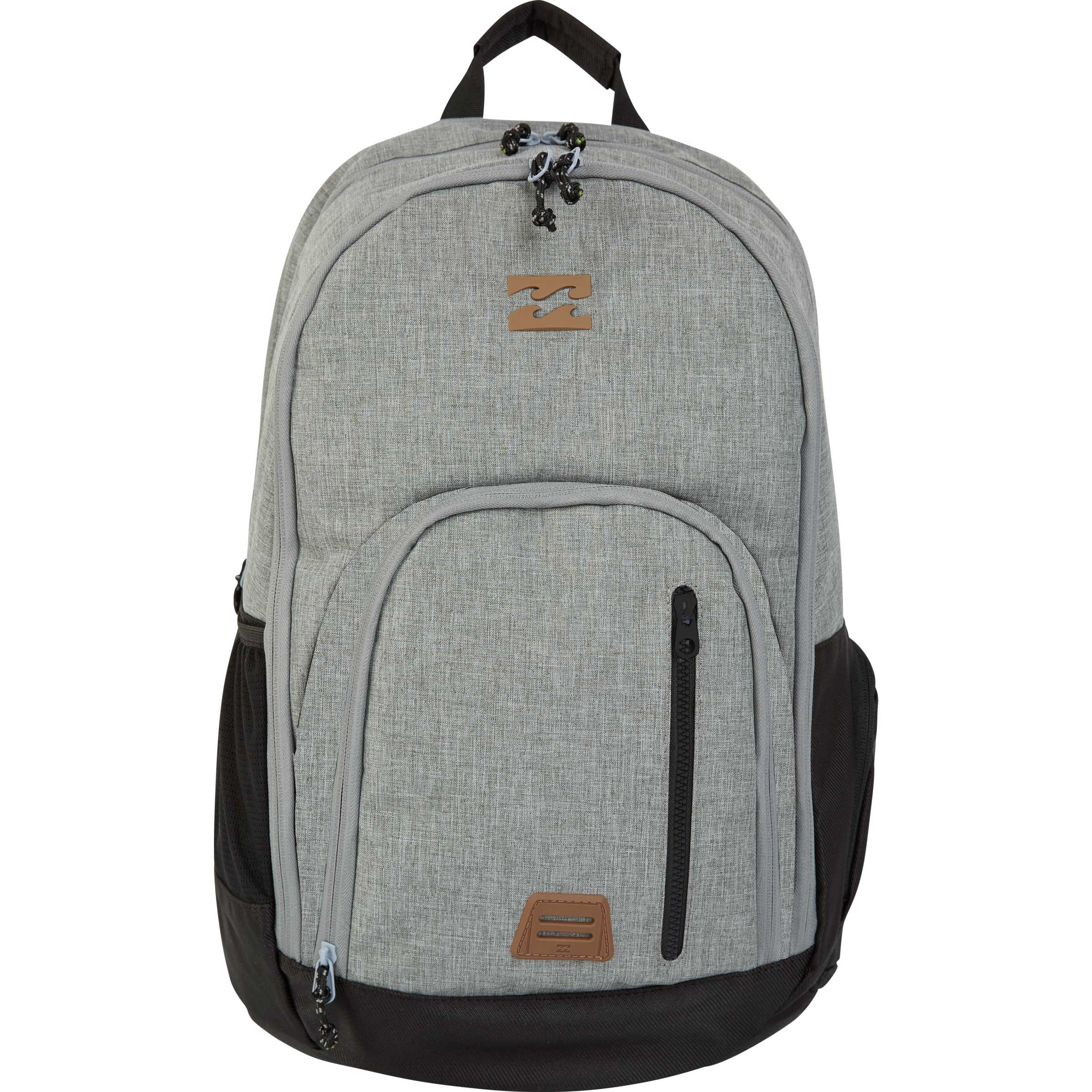 Billabong Men's Classic School Backpack, Grey Heather, ONE