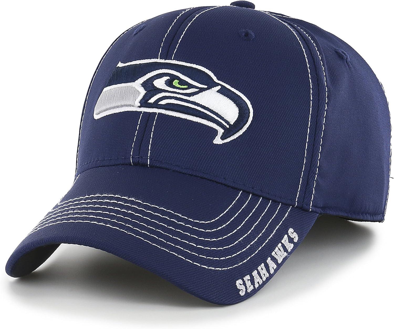 NFL Mens OTS Start Line Center Stretch Fit Hat