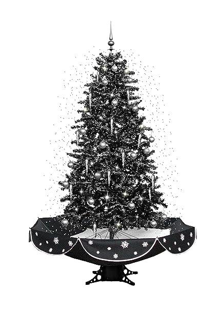 eStore Christmas 5ft Snowing Cascading Christmas tree with Lights &  melodies - 140cm + 20cm Tree - EStore Christmas 5ft Snowing Cascading Christmas Tree With Lights