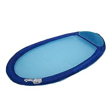 Swimways 6038044   Spring Float Original   Matelas Gonflable De Piscine  Semi Immergé En Tissu