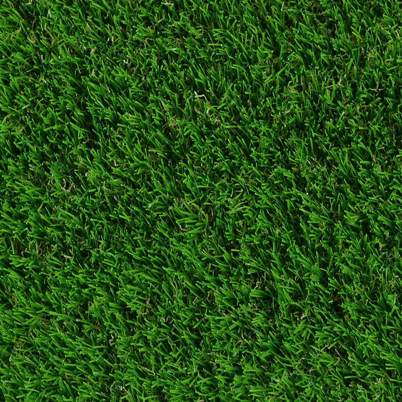18 mm /• Kunstrasenteppich wasserdurchl/ässig /& UV-best/ändig /• Garten Terrasse Deko /• 100x150 cm casa pura Kunst-Rasen in 6 H/öhen /• Nat/ürlich weich in Echtrasen-Optik /• Rasen-Teppich TERRAZA