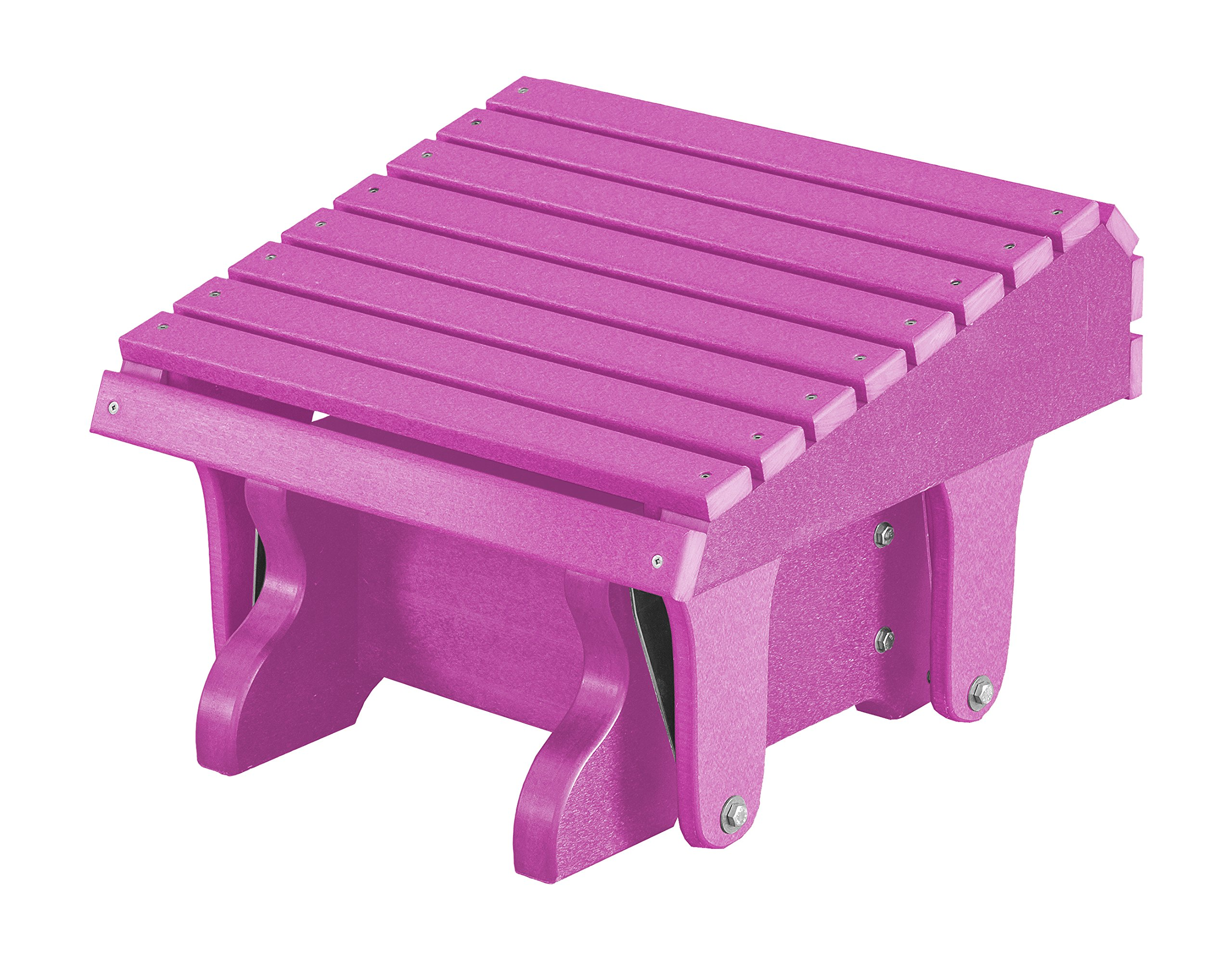 DutchCrafters EcoPoly Lumber Gliding Footrest (Purple) by DutchCrafters