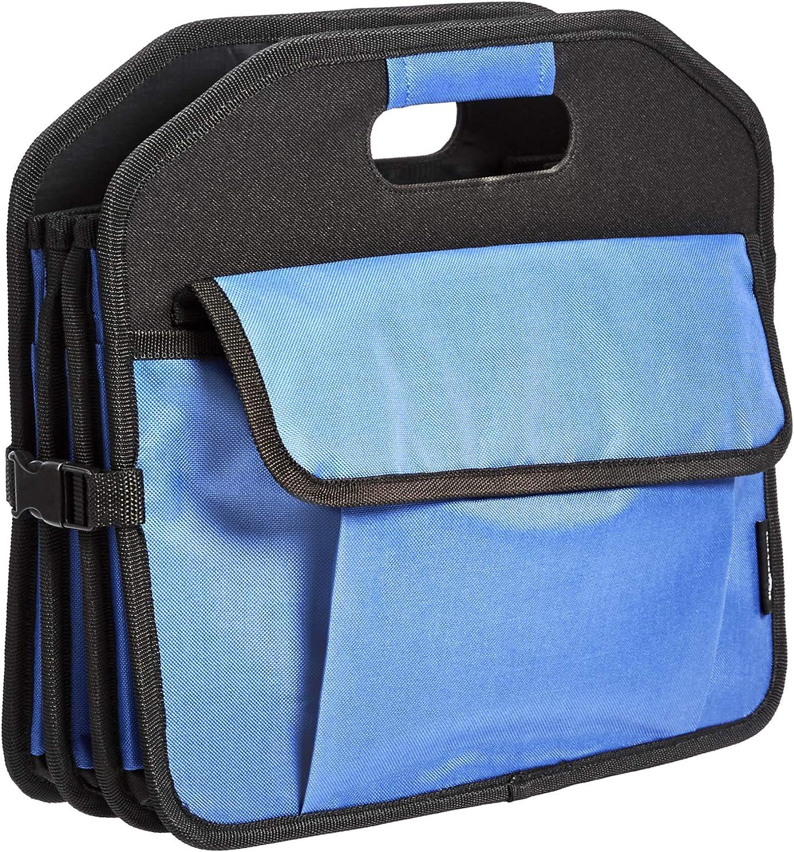 Basics Organiseur de coffre multi-compartiments r/étractable Portable et r/ésistant Bleu