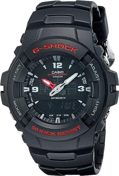 Montre Homme Casio G Shock G 100 1BVMUR: Casio:  HPEIE