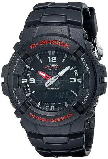 2d6397d5c872 Casio Reloj de Pulsera G-100-1BVMUR  Casio  Amazon.es  Relojes