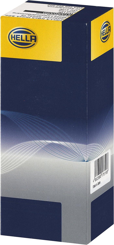 Hella 8ga 008 892 002 Glühlampe W21w Standard 12v 21w Sockelausführung W3x16d Schachtel Menge 10 Auto