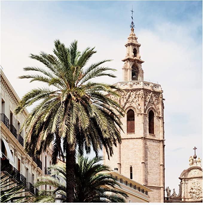 Trademark Fine Art Ph01425 C2424gg Made In Spain 3 Valencia Cathedral Ii By Philippe Hugonnard 24x24 Posters Prints