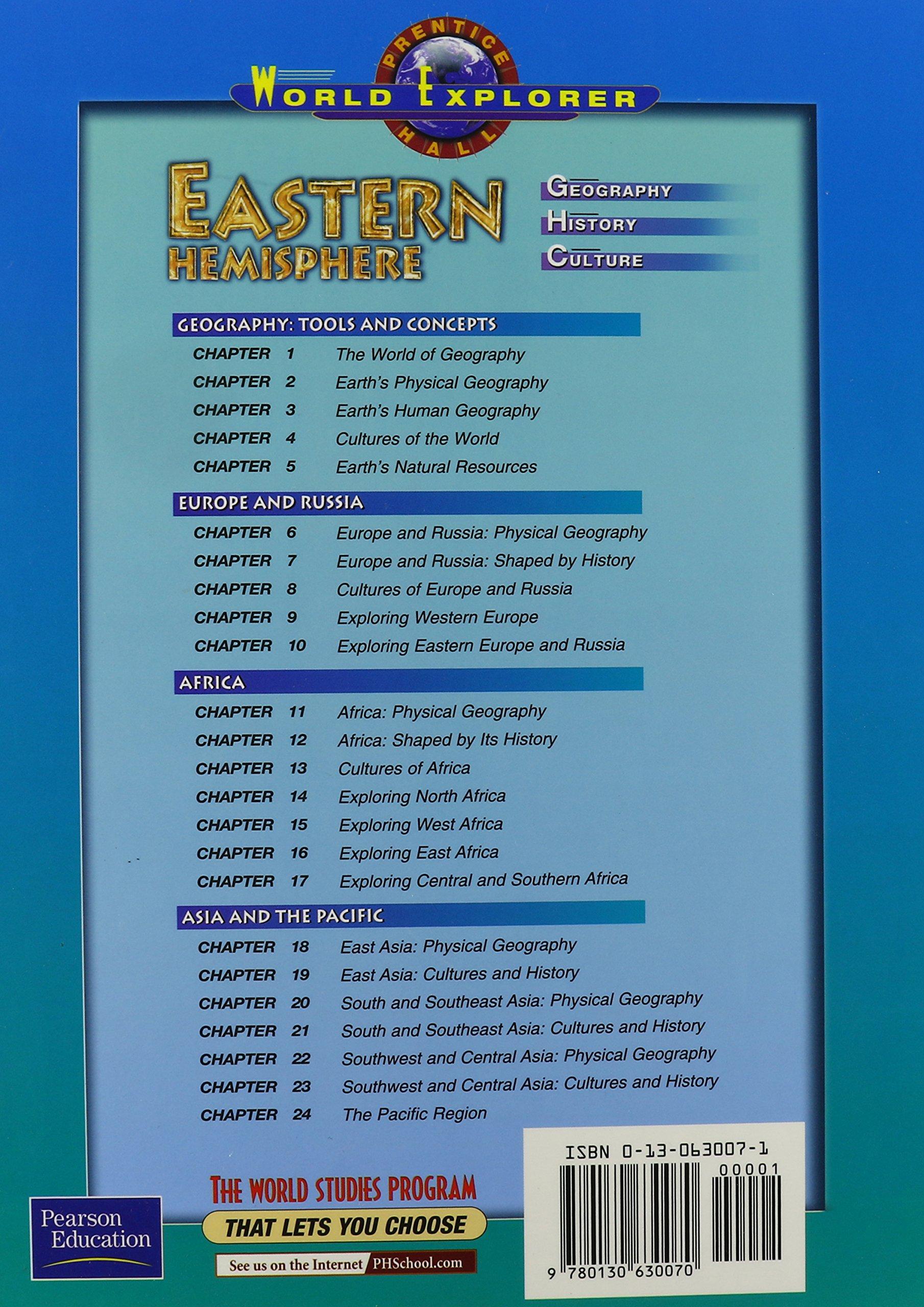 World explorer eastern hemisphere 3 edition student edition 2003c world explorer eastern hemisphere 3 edition student edition 2003c prentice hall world explorer prentice hall 9780130630070 amazon books sciox Images