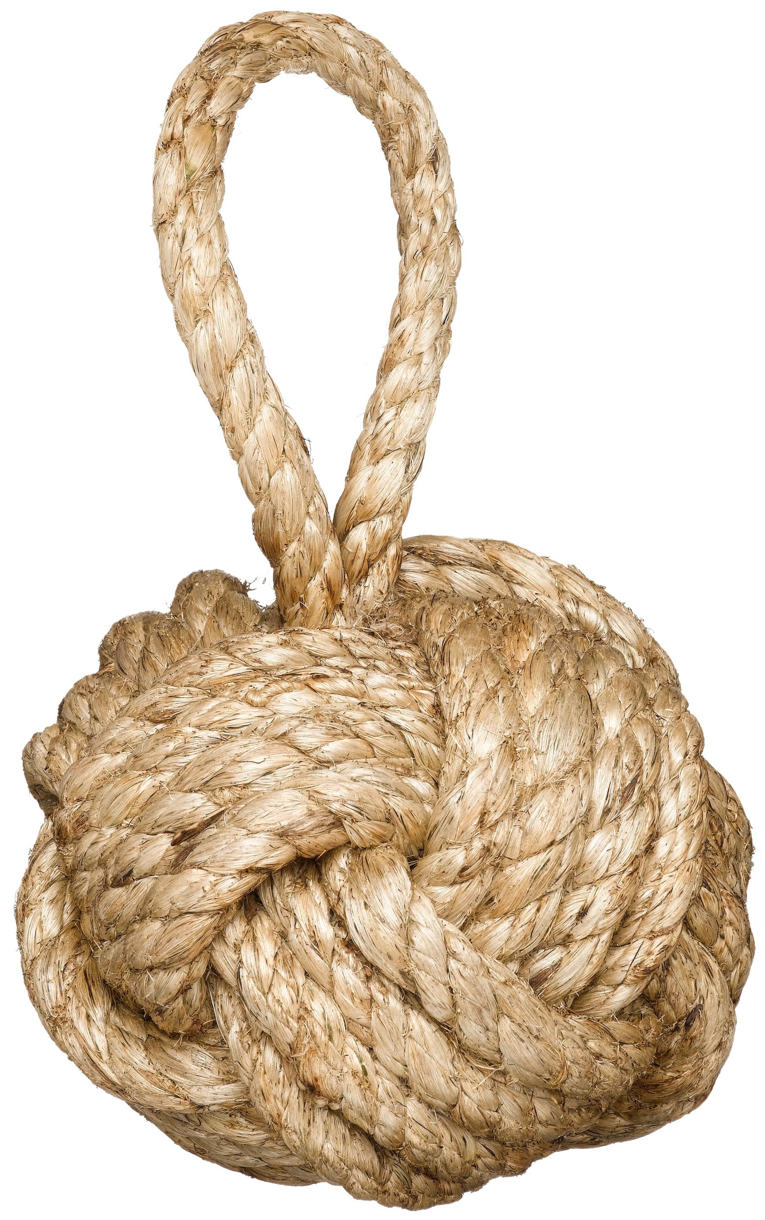 Two's Company Marseille Knot Door Stopper (3.3 lbs) - Jute