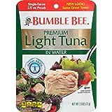 Bumble Bee Chunk Light Tuna in Water, 2.5 oz