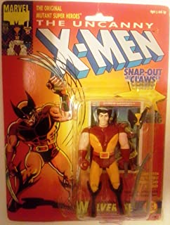 Uncanny X-men Wolverine Figure 1992 Marvel Toy Biz Comme neuf on Card Kay Bee Toys 5th Edition