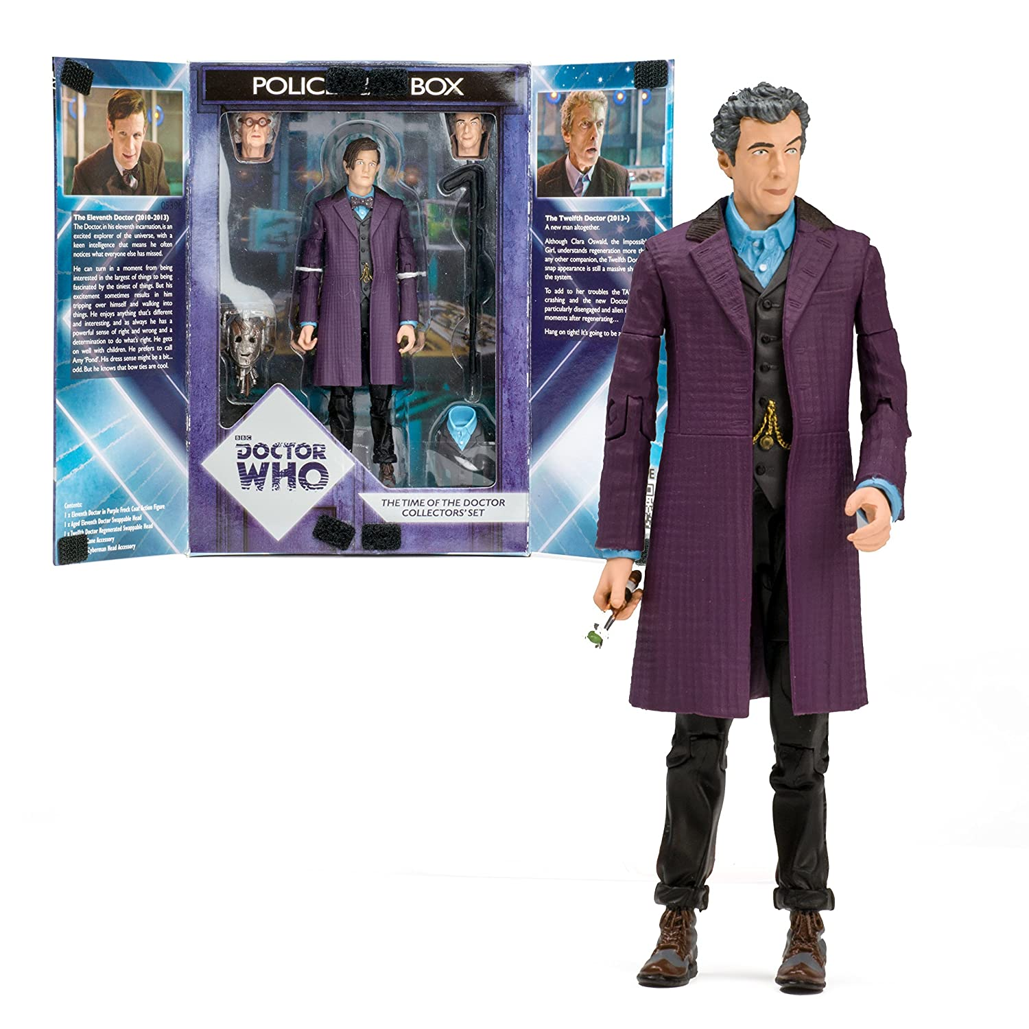 a71d79379f Doctor who The Time of the doctor collectors figure set  Amazon.co.uk  Toys    Games