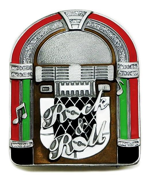 Música Hebilla de Cinturón - Rock y Roll Tocadiscos ...