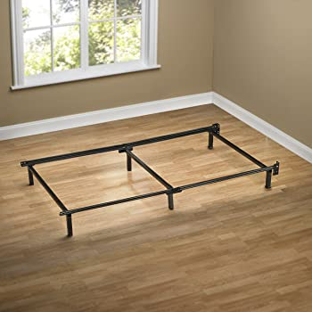 Amazon Com Metal Bed Frame With Hook On Headboard