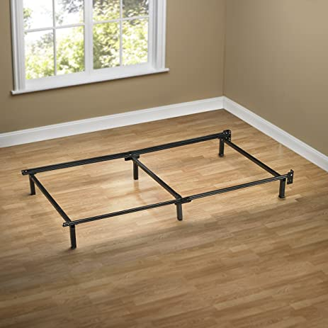 Amazoncom Zinus Compack 6Leg Support Bed Frame for Box Spring