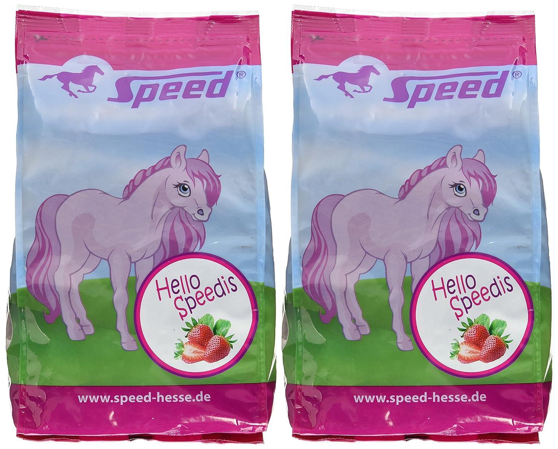 2/Unidades Speed Hello speedis Fresas la Saludable pferdeleckerlis para la Recompensa con coraz/ón para Caballos y Ponis 2/x 1/kg