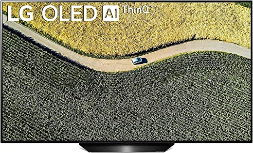 55 inches LG OLED TV 4K Ultra HD Smart OLED TV OLED55B9PTA   With Built-in Alexa (PCM Black)