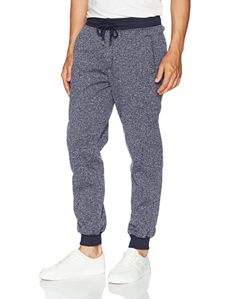 d9040dce2a6 Amazon.com  Southpole Men s Basic Fleece Marled Jogger Pant  Clothing