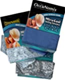 MiraCool Cooling Bandanas. Pack of 3 Bandanas - The Blues - Reusable
