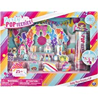 Party Popteenies Party Time Surprise Set with Confetti, Collectible Dolls and Accessories
