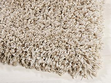 Teppich beige  Shaggy Teppich Twilight von Ragolle (6611 beige, (8) 200x200 cm ...