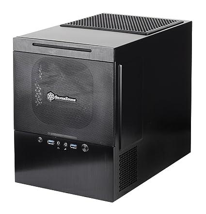 SilverStone SST-SG10B - Carcasa de ordenador cubo Sugo Micro ATX, negro