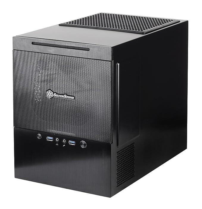 1 opinioni per SilverStone SST-SG10B Case per PC, Nero