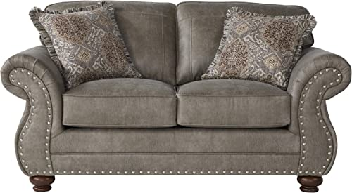 Roundhill Furniture Leinster Love Seat