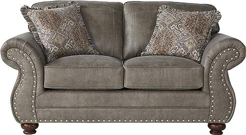 Roundhill Furniture Leinster Love Seat
