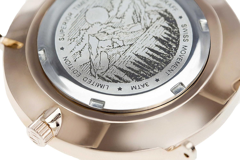 Frederic Graff Damen Armbanduhr 'Monte Rosa' Roségold