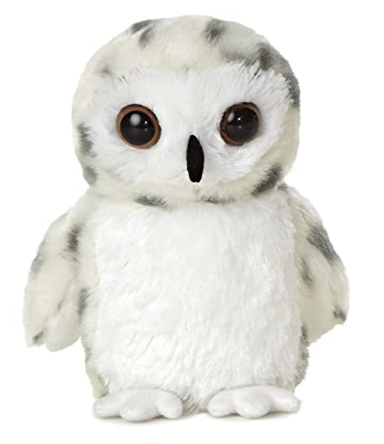 Amazon Com Aurora World 8 Snowy Owl Toy Small White Toys Games