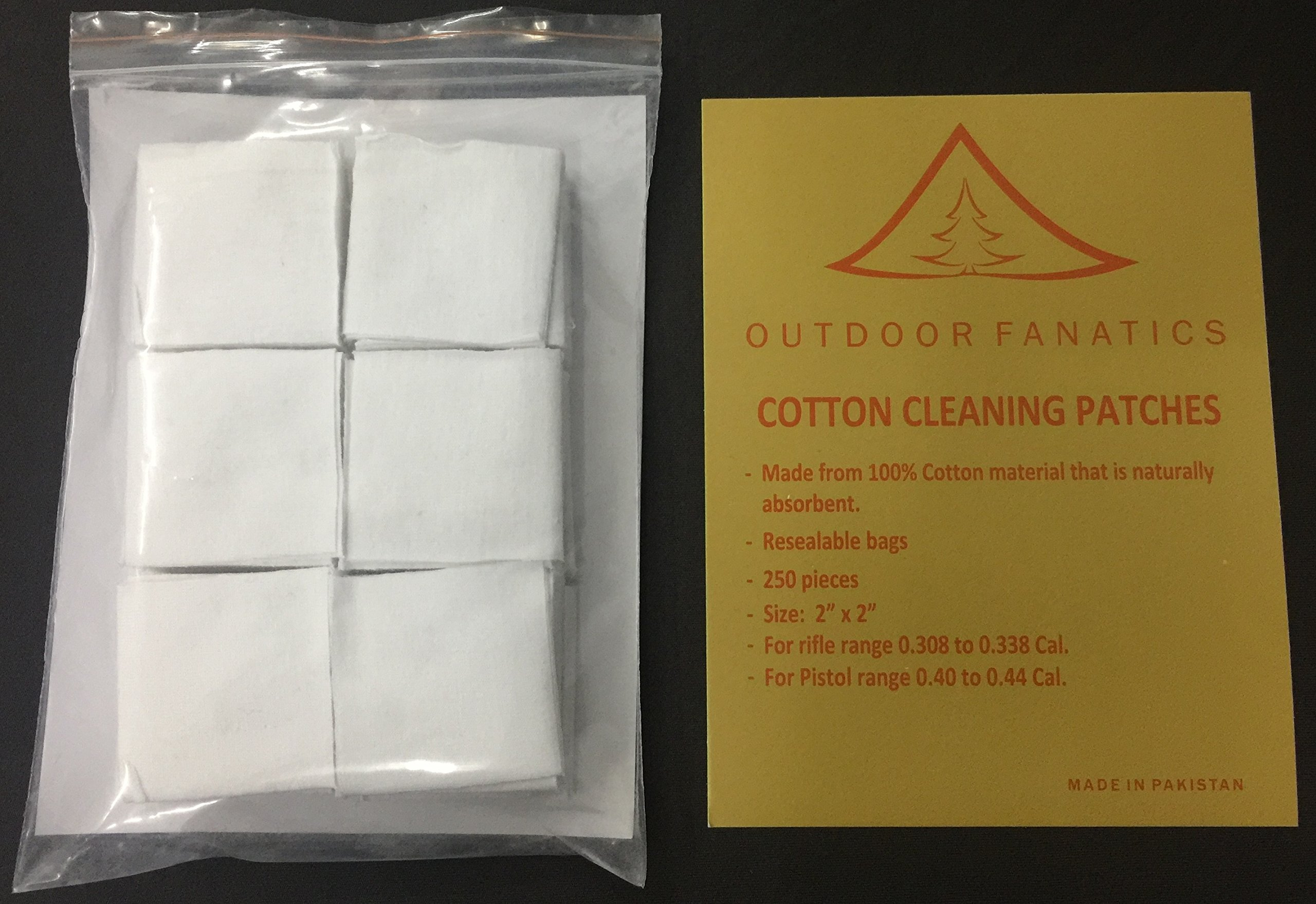 Outdoor Fanatics Rifle and Pistol Cleaning Patch