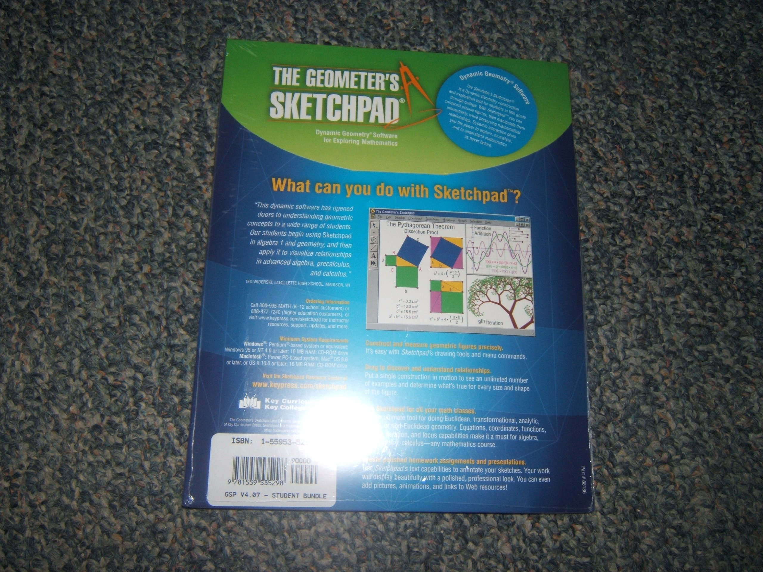 The Geometer\'s Sketchpad: Dynamic Geometry Software for Exploring ...