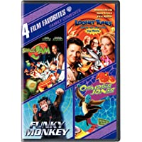 4 Film Favorites: Family Comedies (Space Jam / Looney Tunes: Back In Action / Funky Monkey / Osmosis Jones)