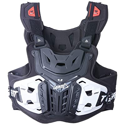 Leatt 4.5 Chest Protector (Black, Adult): Automotive