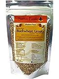 Sattvic Foods Organic Gluten Free Buckwheat Groats, 250g