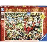 Ravensburger Italy 19562 - Puzzle Gli Ultimi Preparativi di Babbo Natale, 1000 Pezzi