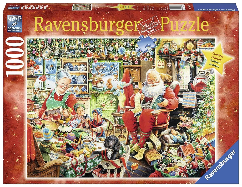 Ravensburger Santa's Final Preparations Puzzle (1000 Piece)