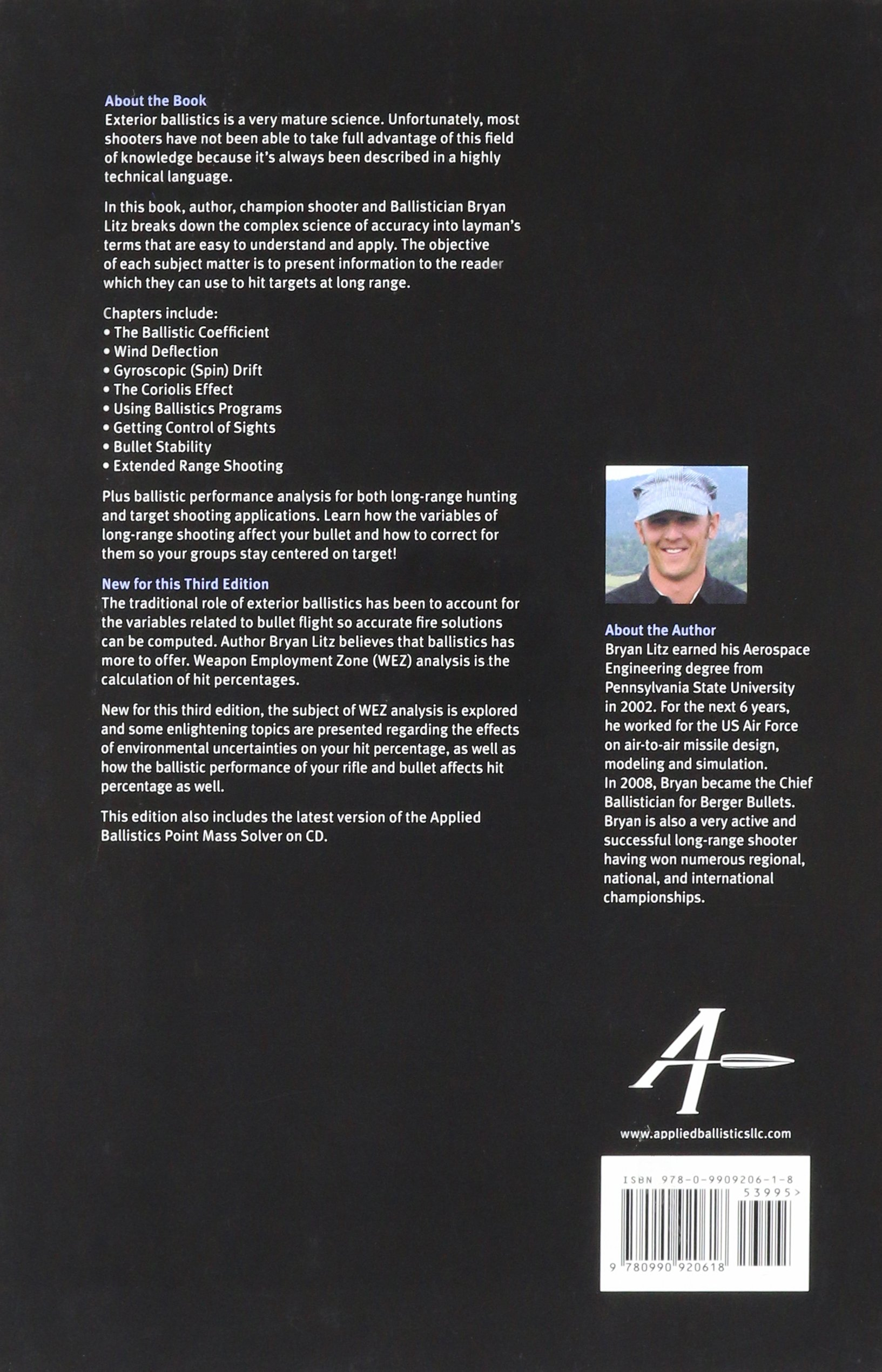 Applied Ballistics For Long Range Shooting 3rd Edition