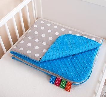 Kuschlige Babydecke FLAUSCHIG Decke Kinderdecke Babydecke 75x100 Kuscheldecke