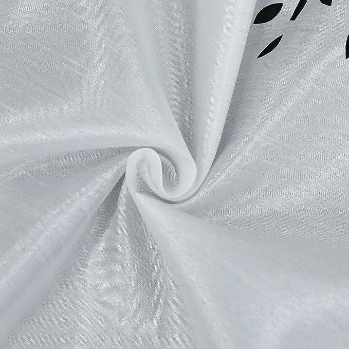 HxB 30x90cm joyswahl Cocina visillo Voile Bistro cortina con laser Cut Dise/ño de /» Carmen /« Barra cortina Stores 1er Pack Blanco poli/éster