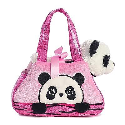 Aurora World Fancy Pals Peek-A-Boo Panda Pet Carrier: Toys & Games
